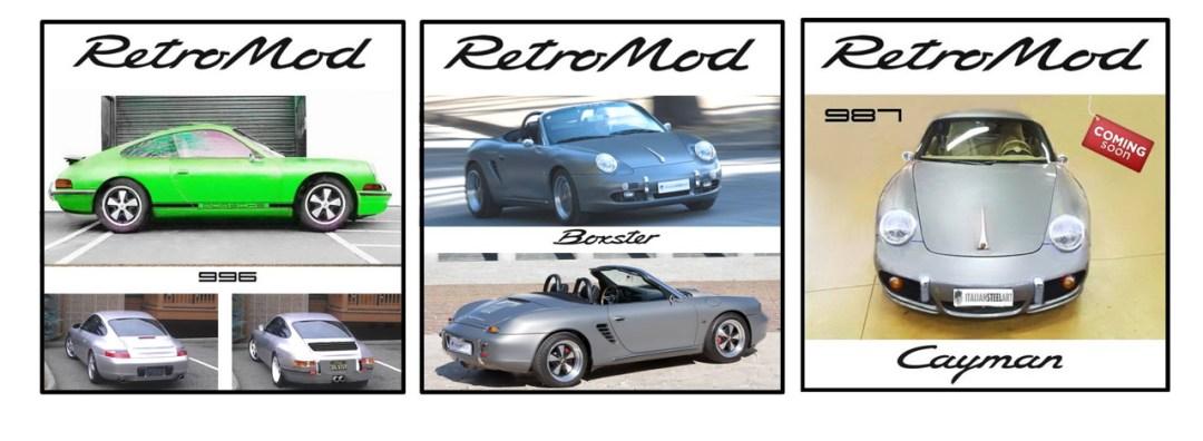 Porsche ItalSteelArt... Boxster + 356 = RetroMod ! 23
