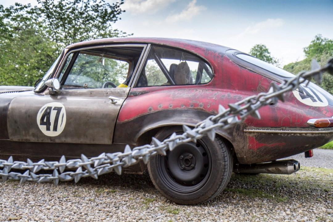 Rat Rod Mods en Jaguar Type E... Pour emmerder les puristes ! 29
