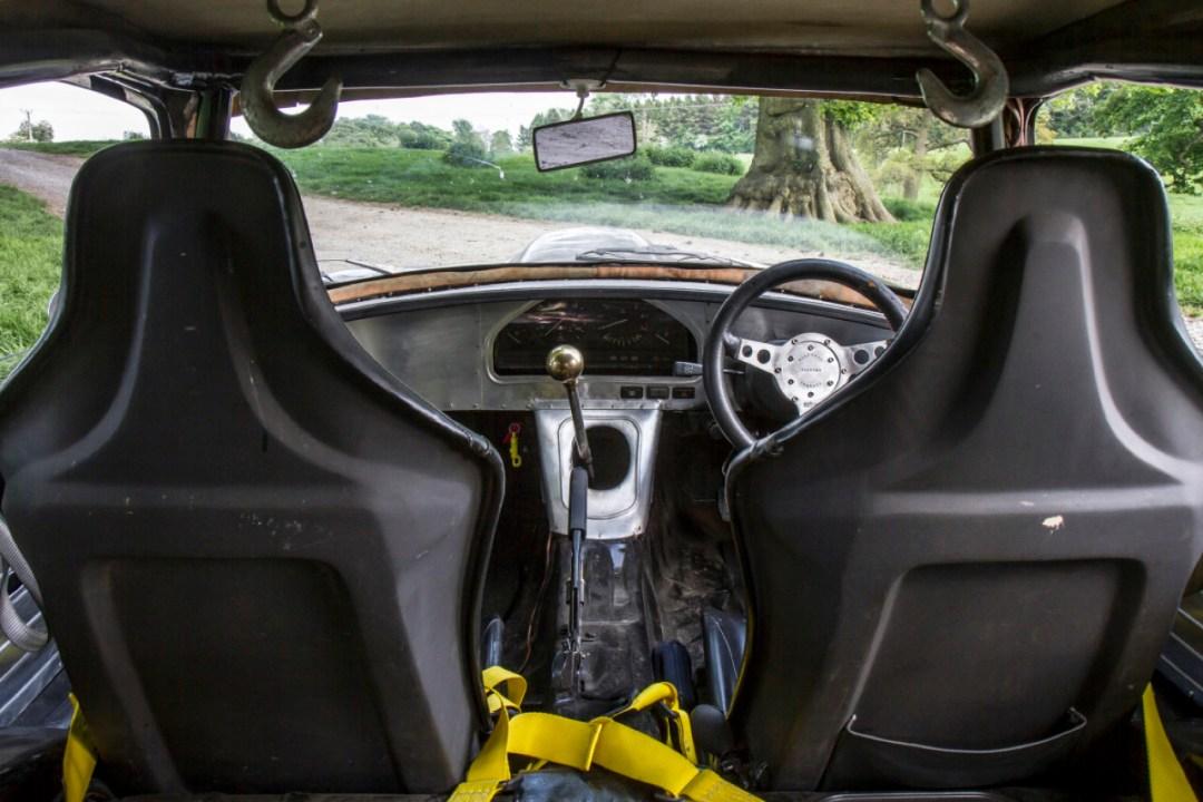 Rat Rod Mods en Jaguar Type E... Pour emmerder les puristes ! 30