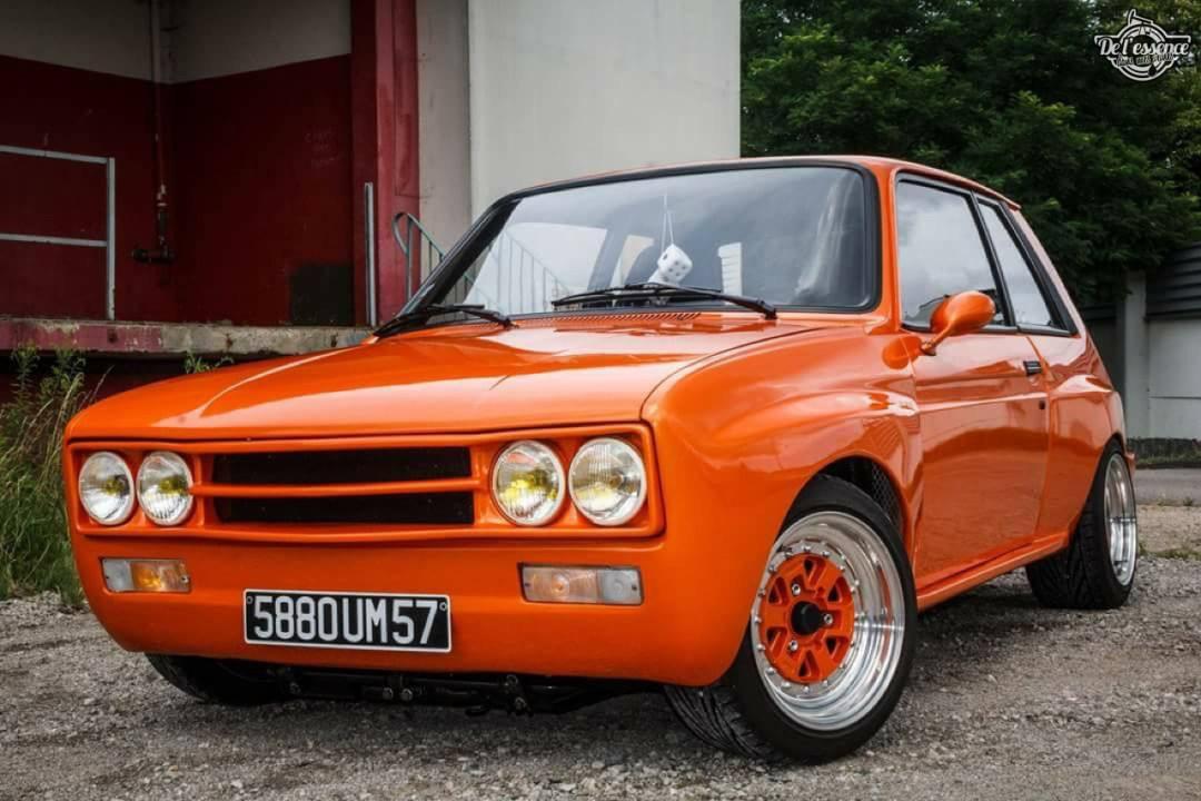 Peugeot 104 ZS sous stéroïdes ! 48
