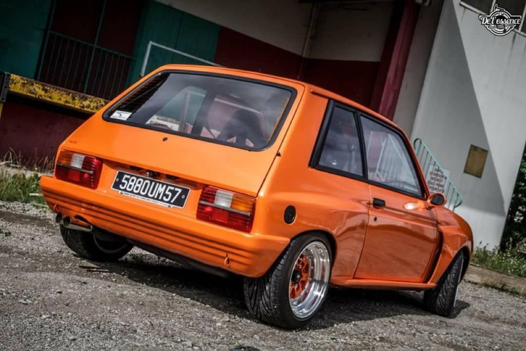 Peugeot 104 ZS sous stéroïdes ! 47