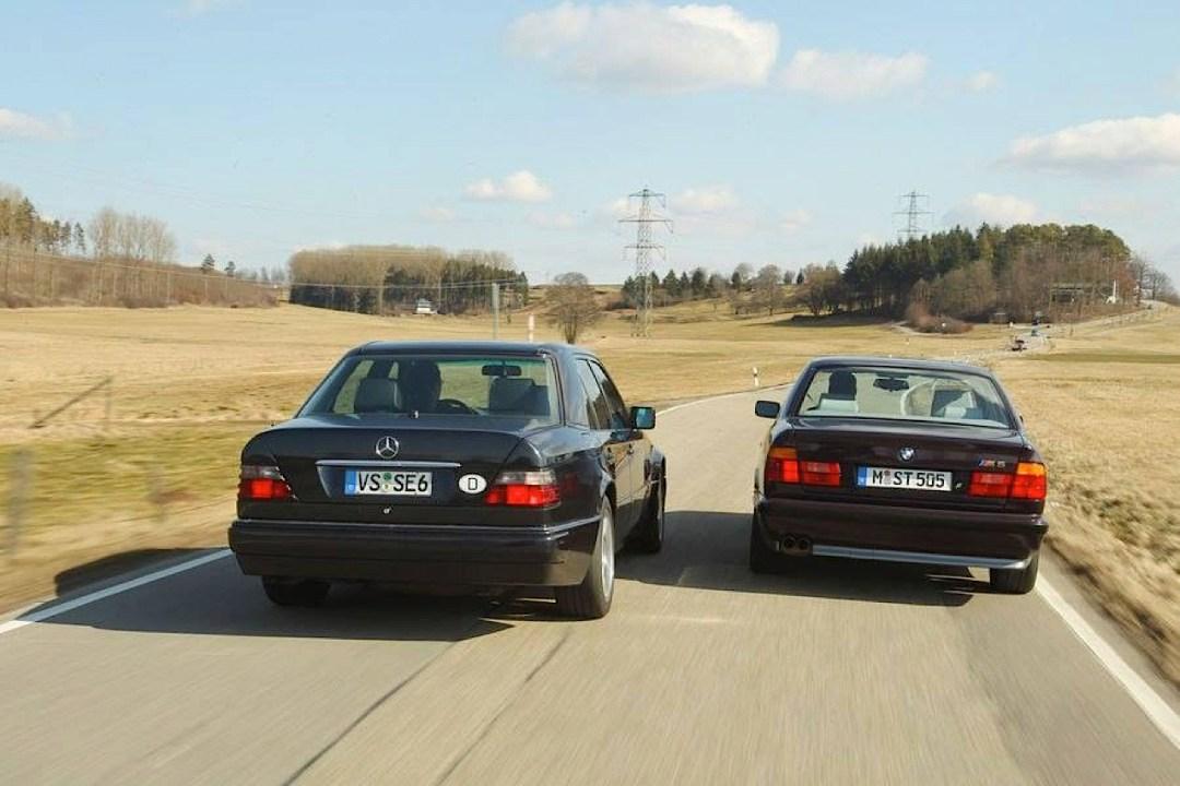 """""""The Street Fighters"""" : Mercedes 500E vs BMW M5 E34 33"""