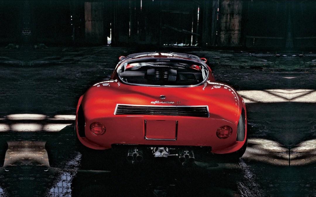 Alfa Romeo T33 Stradale... Oeuvre d'art sur roues ! 52