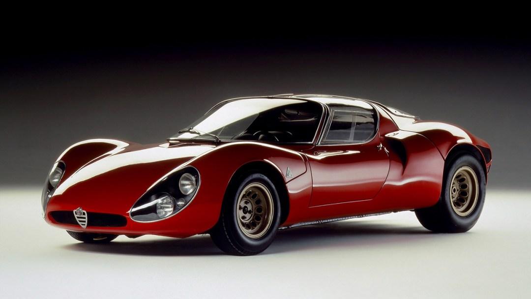 Alfa Romeo T33 Stradale... Oeuvre d'art sur roues ! 50