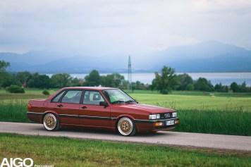 DLEDMV - Audi 90 low & slow en BBS - 007