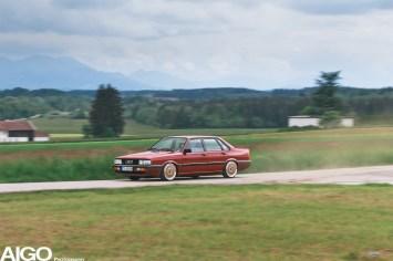 DLEDMV - Audi 90 low & slow en BBS - 016