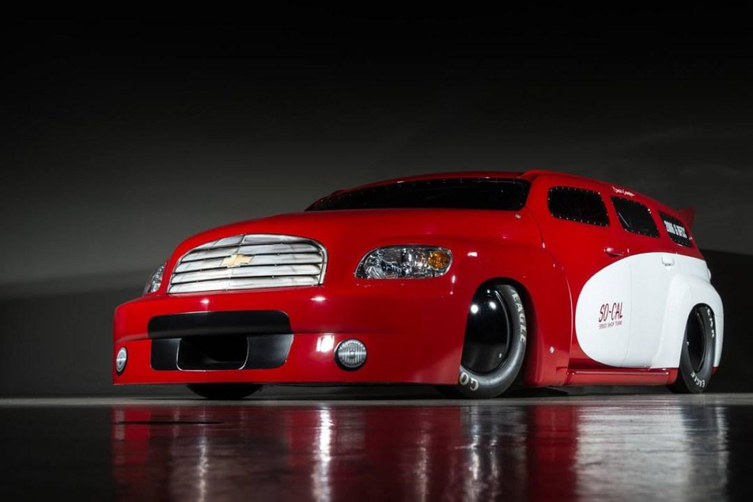 SO-CAL Chevrolet HHR Bonneville : 1200 ch et un peu de sel ! 66