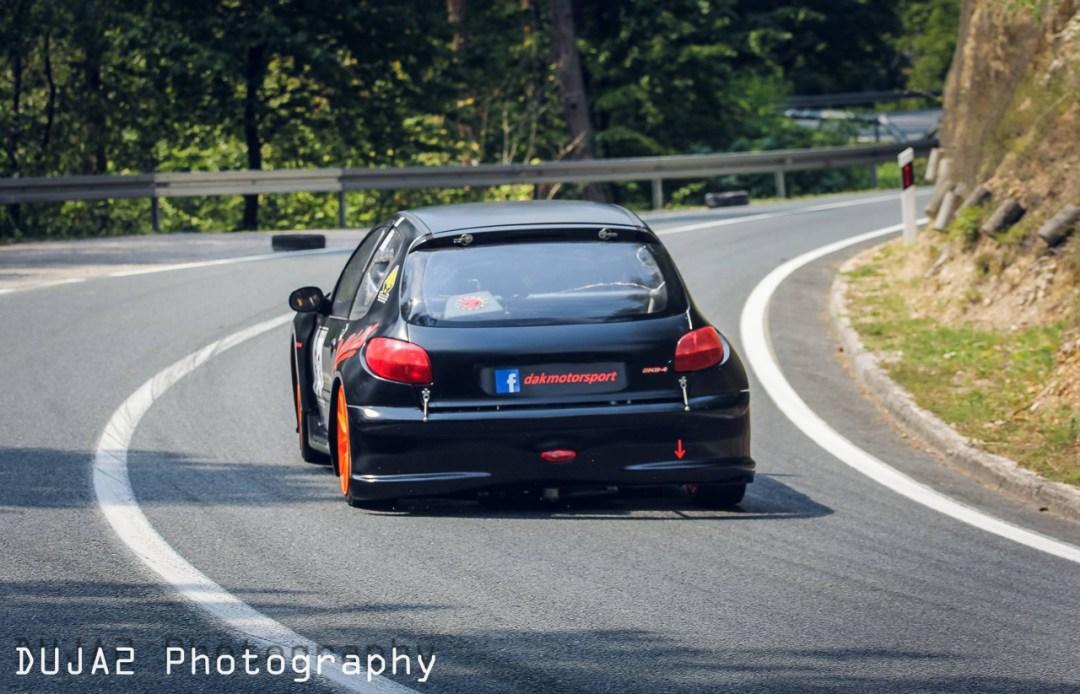 Hillclimb Monster : Peugeot 206 2K8-4... Avec 2 moteurs de 1000 GSX-R ! 23