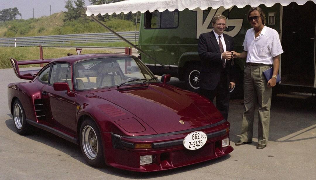 La Porsche 935 Street legal de Mansour Ojjeh : No pain, no gain ! 37