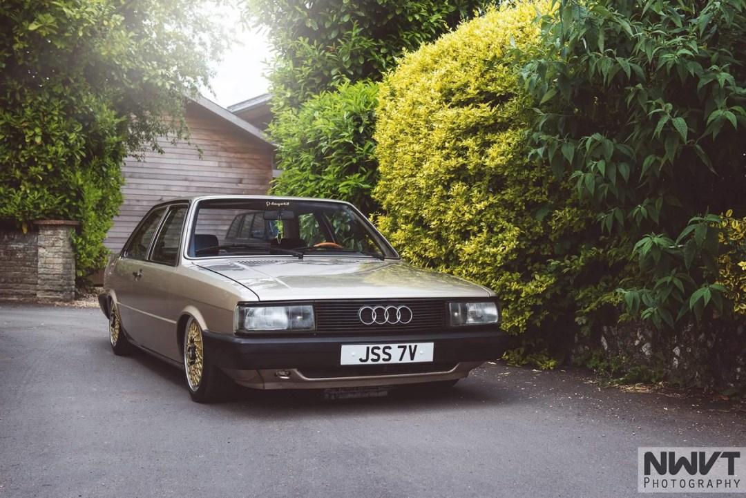 Audi 80 B2... coupé, V6, airride et BBS ! 41