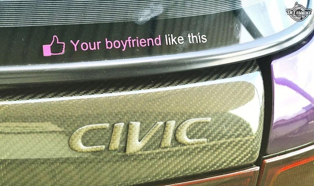 Julie's Honda Civic : Skittles 34