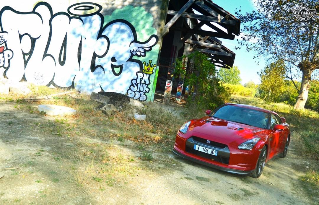 Nissan GTR R35 : Godzilla voit rouge ! 105