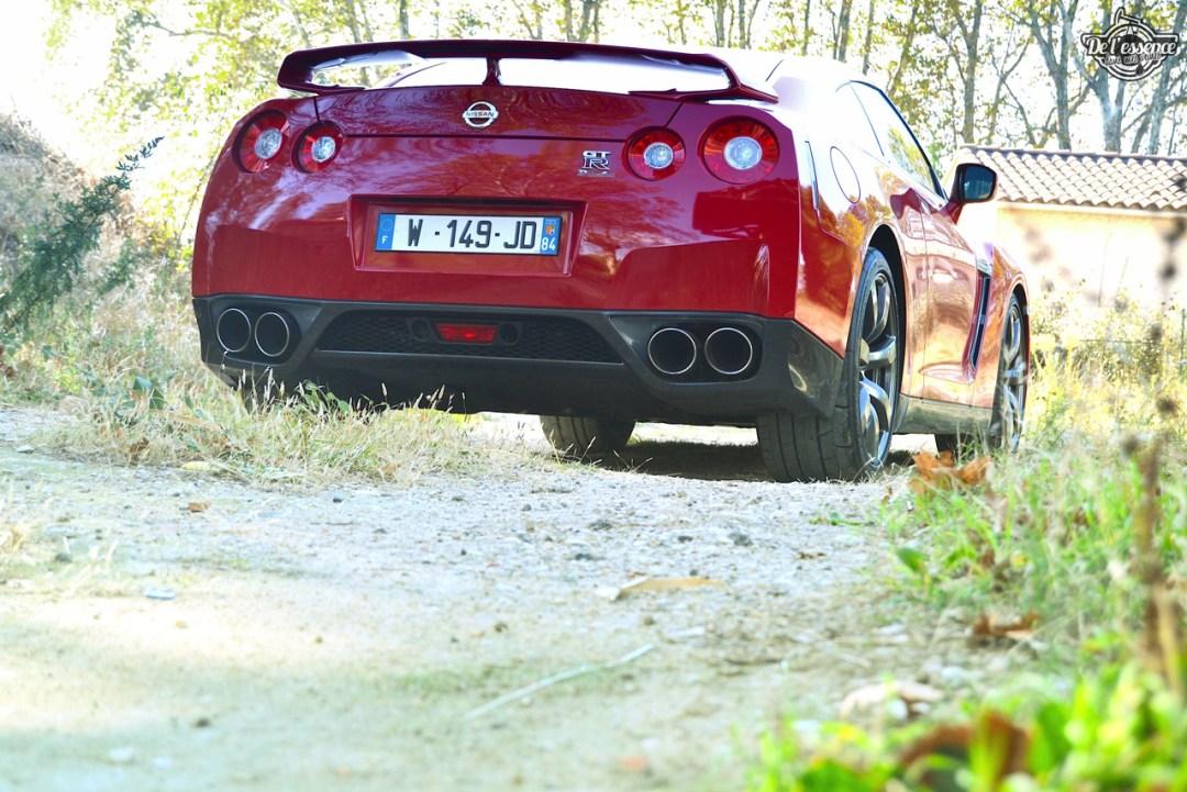 Nissan GTR R35 : Godzilla voit rouge ! 96