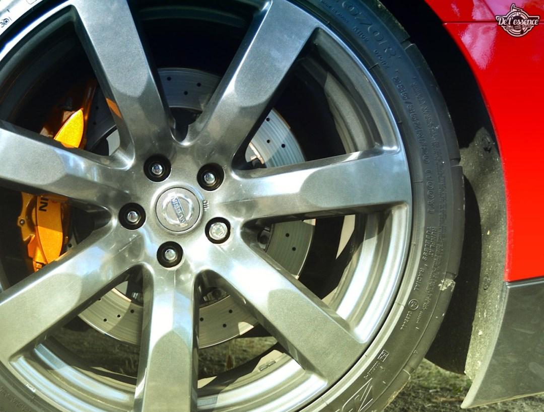 Nissan GTR R35 : Godzilla voit rouge ! 89