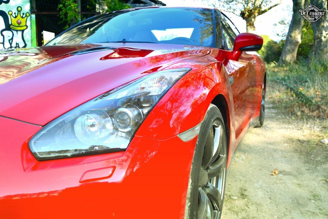 Nissan GTR R35 : Godzilla voit rouge ! 92