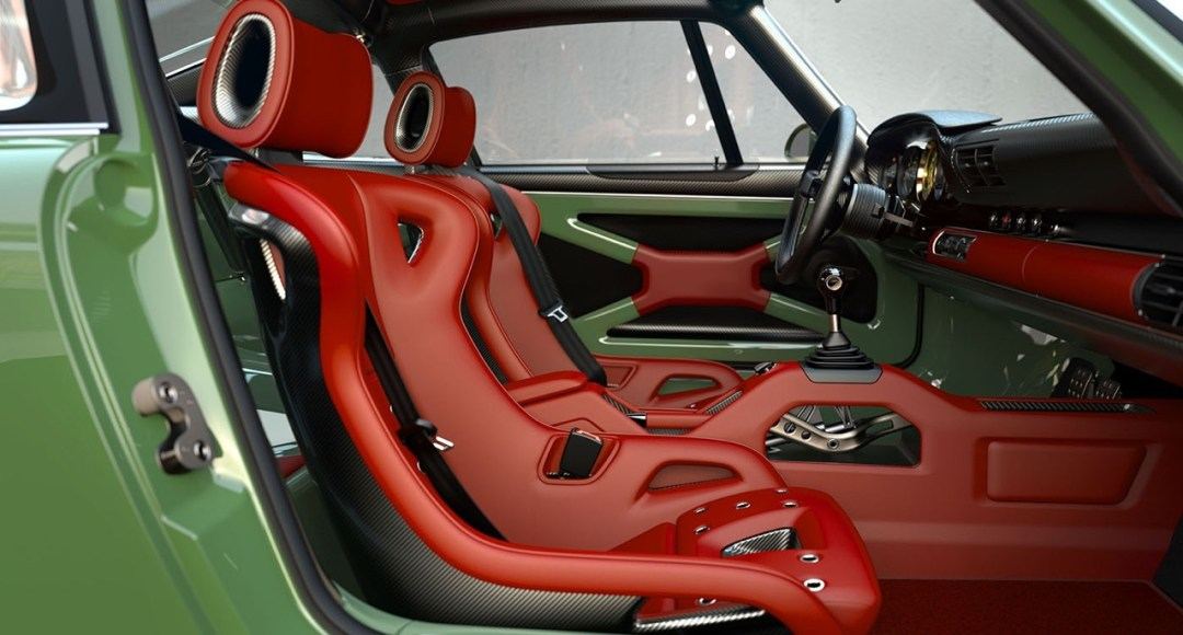 Singer dehors, Williams dedans ! La Porsche 911 en mode tuerie ! 56