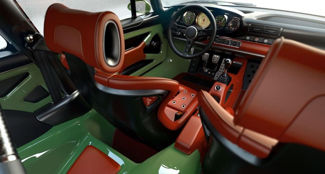 Singer dehors, Williams dedans ! La Porsche 911 en mode tuerie ! 46