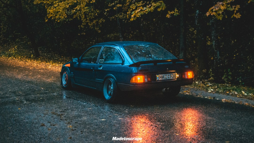 Justa '85 Ford Sierra V6 Cosworth : Bestiale ! 71