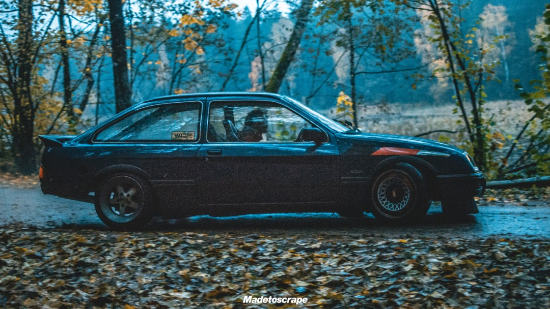 Justa '85 Ford Sierra V6 Cosworth : Bestiale ! 87