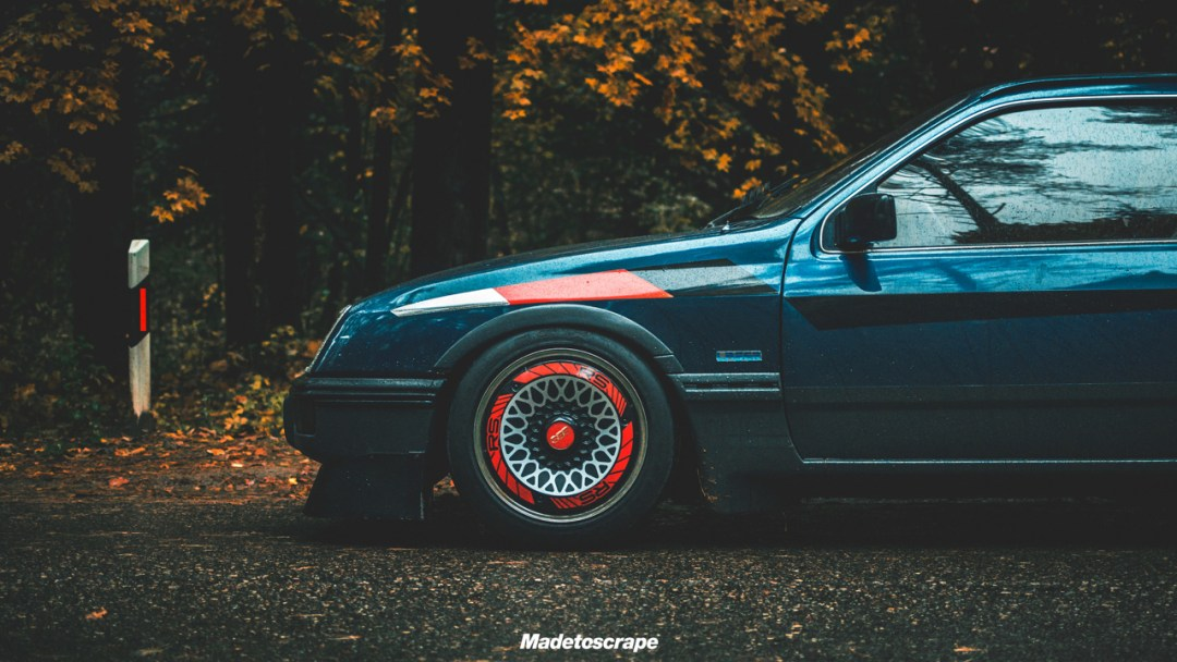 Justa '85 Ford Sierra V6 Cosworth : Bestiale ! 81