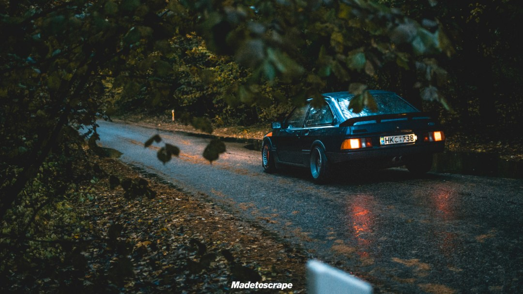 Justa '85 Ford Sierra V6 Cosworth : Bestiale ! 89
