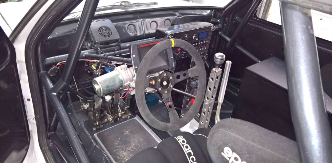 Hillclimb Monster : Une Golf II en Hayabusa turbo 4wd... C'est tout ?! 8