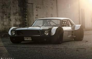 DLEDMV Ford Mustang Widebadass 07