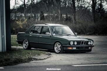 DLEDMV 2K18 - BMW 520i E28 Speedline & Static - 12