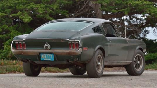 DLEDMV 2019 - Ford Mustang Bullitt Mecum - 003