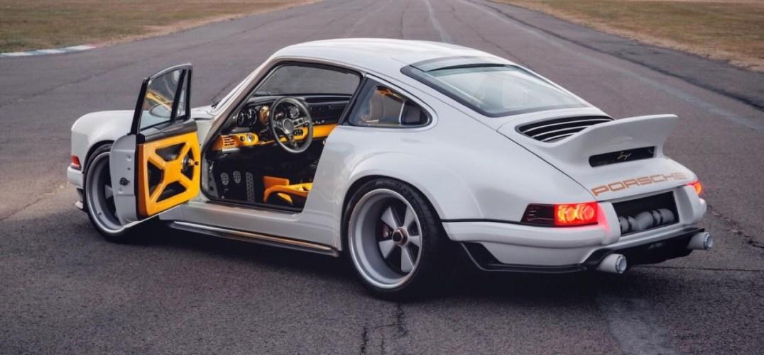 DLEDMV 2K18 - Porsche 911 Singer Dynamics and Lightweighting Study - 06