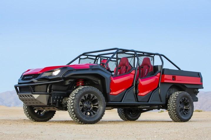 DLEDMV - SEMA 2K18 - Honda Open Air Vehicle Concept - 13