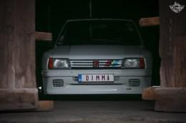 DLEDMV 2K18 - Peugeot 205 Rallye Dimma & KΩS photography - 01