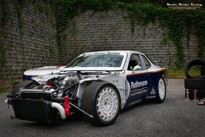 DLEDMV 2K19 - Porsche 924 GTP Motor Werks Racing Rothmans Tribute - 10
