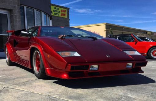 DLEDMV 2K19 - Lamborghini Countach Twinturbo Red Max Bobnar - 001