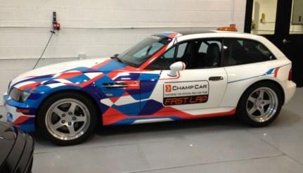 DLEDMV 2K19 - BMW Z3 M Coupé - PPG Pace car 99 - 002