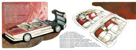 DLEDMV 2K19 - PPG Pace Cars - Cadillac Cimarron Dual Cowl Phaeton Concept - 85 - 002