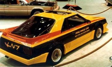 DLEDMV 2K19 - PPG Pace Cars - Mrcury LN7 - 81 - 002