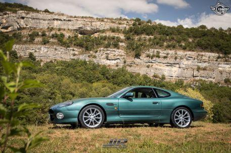 DLEDMV - L'Aston Martin DB7 d'Hedi - Champagne, petits fours et clef de 13 12