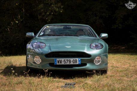 DLEDMV - L'Aston Martin DB7 d'Hedi - Champagne, petits fours et clef de 13 14