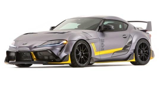 DLEDMV 2K19 - #SEMA - Toyota Supra 3000GT Concept - 001