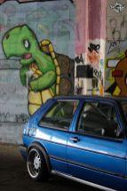 DLEDMV La Volkswagen Golf II swap III GTI de Florian 05