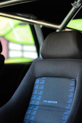 DLEDMV La Volkswagen Golf II swap III GTI de Florian 16