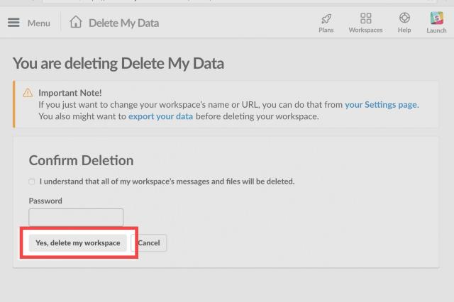 How to Delete Your Slack Account