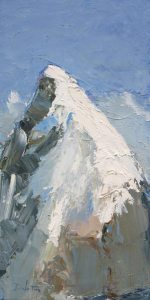 Pic - huile sur toile - 30x60cm - collection particulière