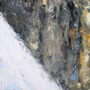 Paroi (Mont-Blanc) - 60x60cm - collection particulière