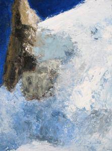Extrème (Haute-Savoie) - huile sur toile - 73x54cm