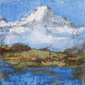Massif des Aiguilles Rouges (Haute Savoie - face à l