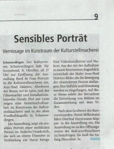 Schneverdingen Zeitung 6. Oktober 2016