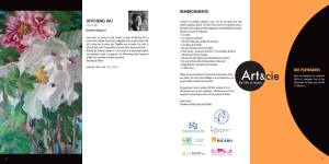 Catalogue Exposition Art&cie 2017 - Jhycheng Wu (http://jhychenwu.blogspot.fr/) - Remerciements + Logos Partenaires Coeur