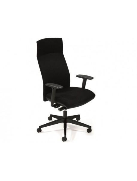 fauteuil de bureau ergonomique attitude synchrone accoudoirs 4d tetiere